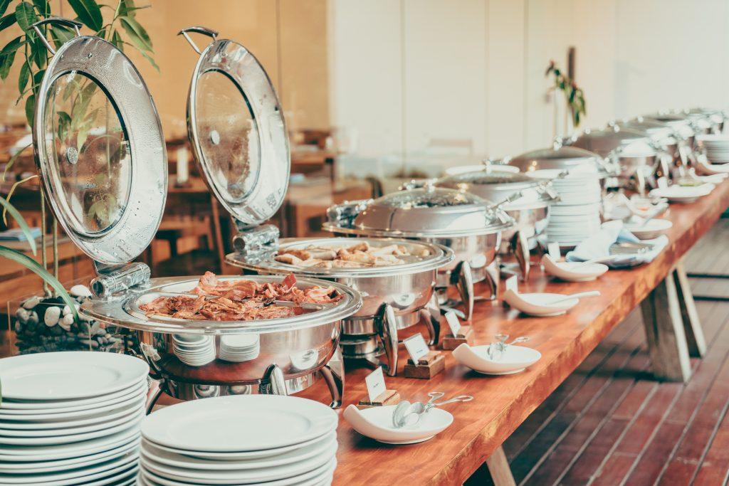 Boda tipo buffet