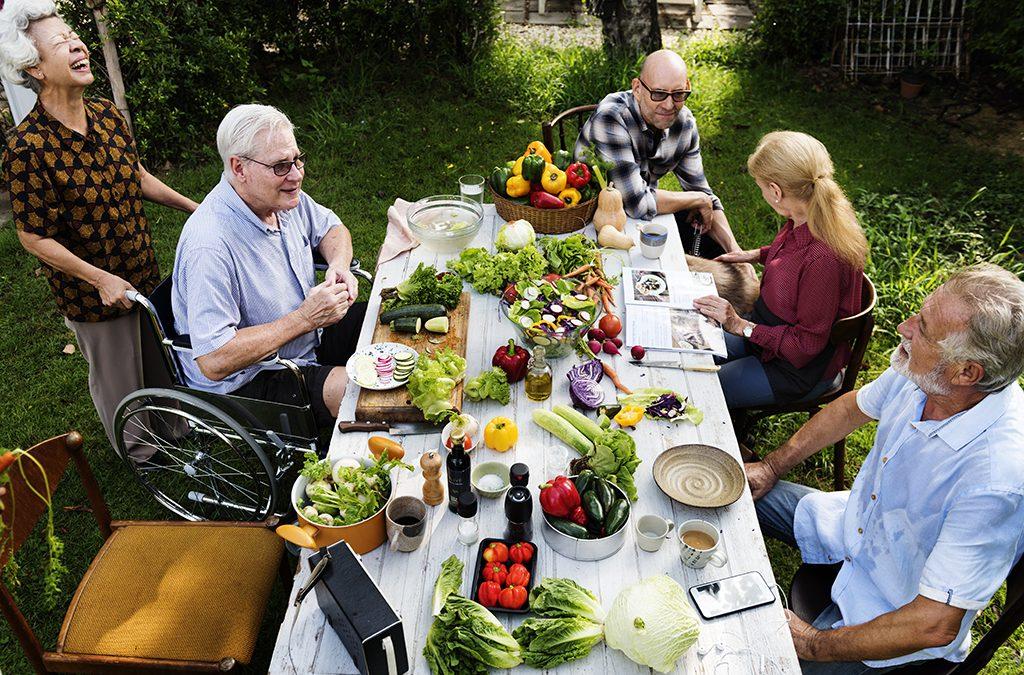 Alimentación saludable para personas mayores