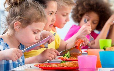 Comedores de colegios y guarderías