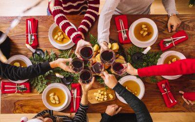 Organiza la cena de empresa de Navidad perfecta