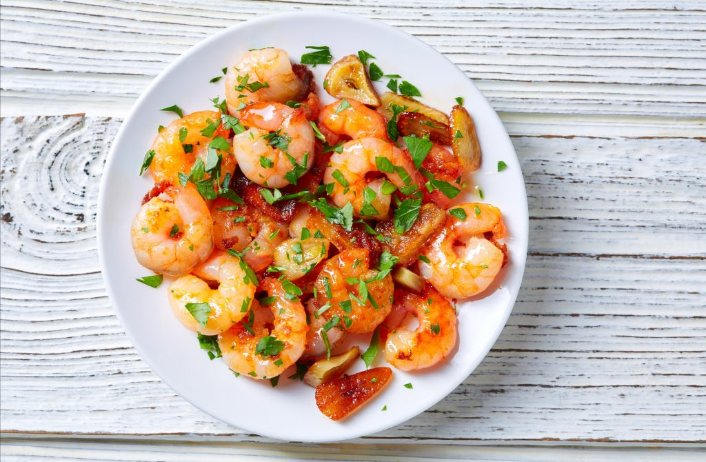 gambas al ajillo platos andaluces